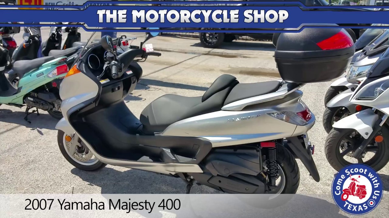 2007 yamaha majesty 400 youtube. Black Bedroom Furniture Sets. Home Design Ideas