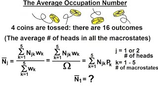 Physics - Statistical Thermodynamics (5 Of 39) The Average Occupation Number