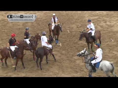 2016 - US Open Arena Polo Championship - NYC Polo vs Cedar Croft