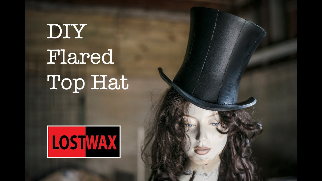 How to make a mad hatter top hat a diy tutorial and for Top gun hat template