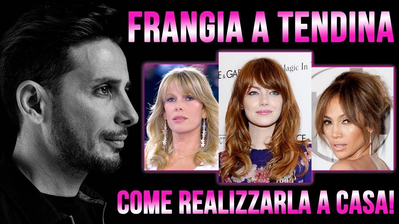 FRANGIA A TENDINA. COME REALIZZARLA A CASA! - YouTube a35cec1c629c