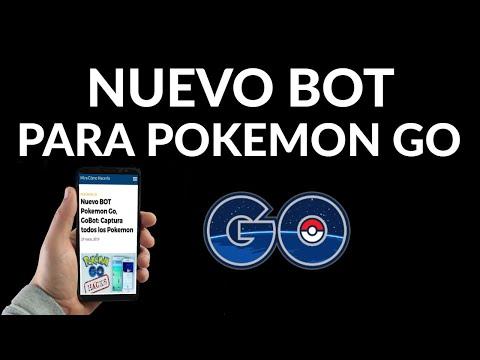 Nuevo BOT Pokemon Go | GoBot | Captura Pokemon