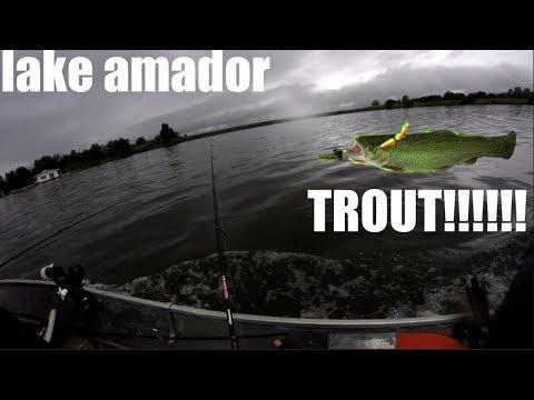 Fishing At Lake Amador!!!!