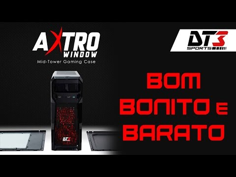 Gabinete AXTRO WINDOW da DT3 Sports