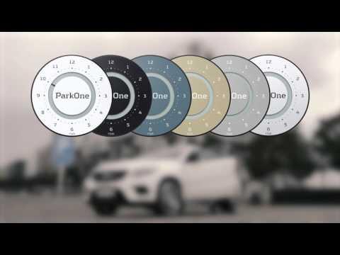 ParkOne 2 parkeringsskive