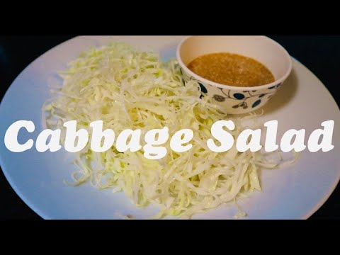 Japanese Salad Dressing Recipe | How to make Cabbage Salad