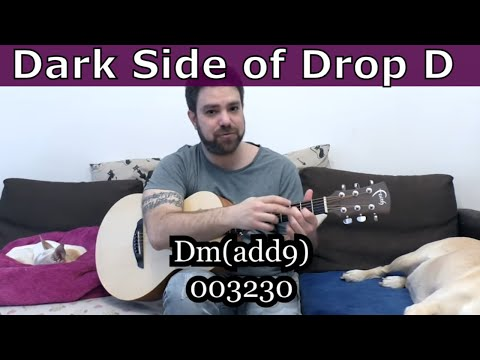 Come Join The Dark Side of Drop D (If You Dare) -- Guitar Lesson w/ TAB