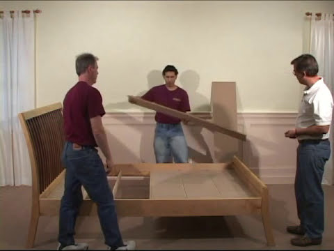 Hardwood Artisans - How to Assemble a Hook Style Bed Frame