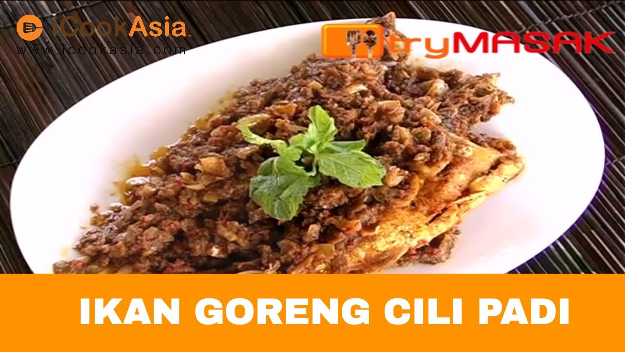 resepi ikan merah goreng cili padi resep masakan khas Resepi Sardin Azie Kitchen Enak dan Mudah