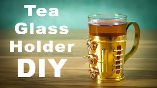 Steampunk Tea Glass Holder