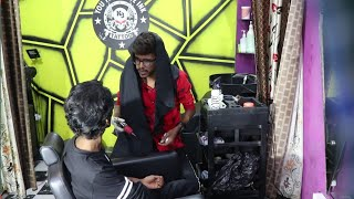 Tattoo prank | Real First Tattoo prank | Tamil prank | orange mittai | saloon prank Tamil |