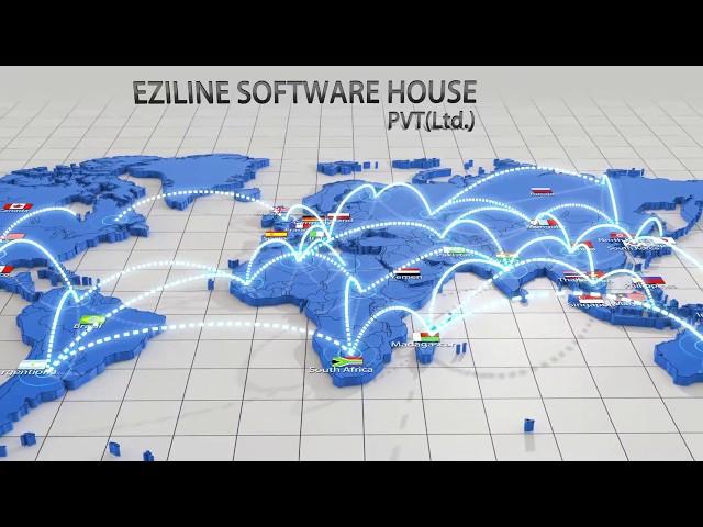 Eziline's Huge Network All over the world
