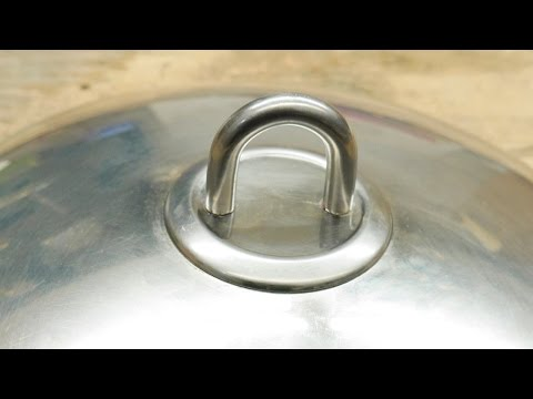 Repairing a Pot Lid Handle