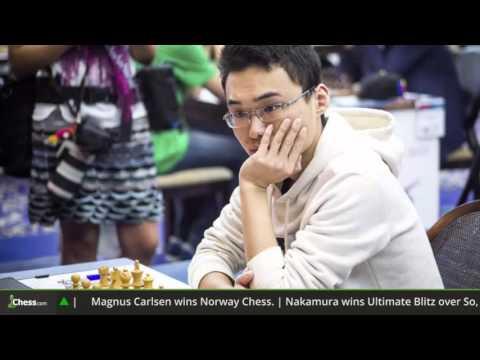 ChessCenter: Great Play By Carlsen, Kasparov