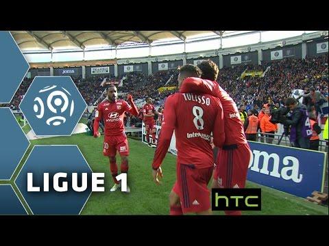 Toulouse FC - Olympique Lyonnais (2-3)  - Résumé - (TFC - OL) / 2015-16