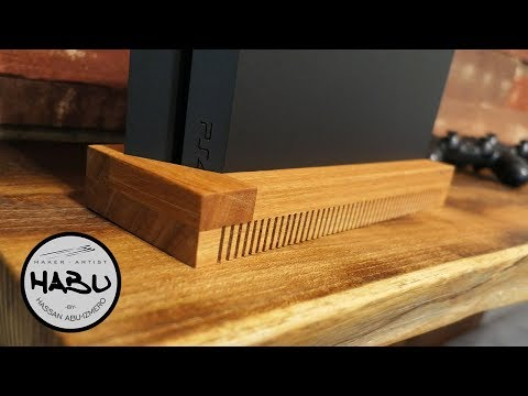 HABU \\ Ventilated Design PS4 Stand