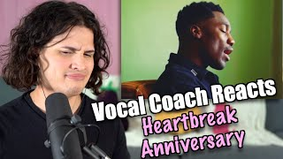 Vocal Coach Reacts to Giveon - Heartbreak Anniversary