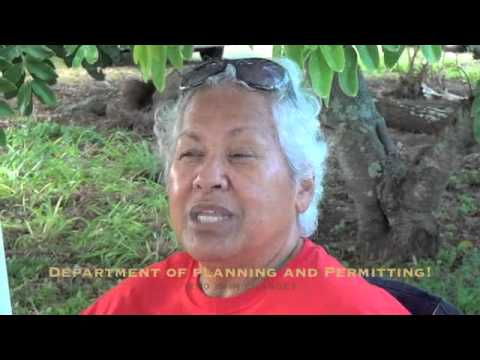 Kahuku Village Protests against Continent Pacific, LLC in Kahuku, Oahu