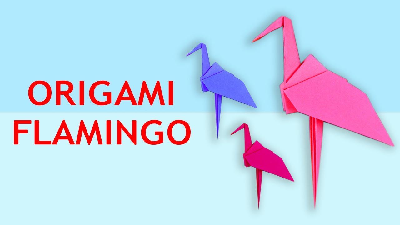 Papercraft Flamingo, 3D-Papier-Handwerk-Skulptur, Tier Kopf ... | 720x1280