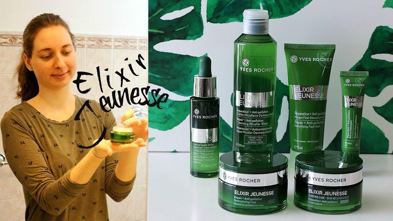Yves Rocher Elixir Jeunesse 🌿 My Anti-Pollution Skincare Routine