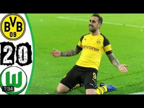 Download Borussia Dortmund vs Wolfsburg 2-0 All Goals & Highlights