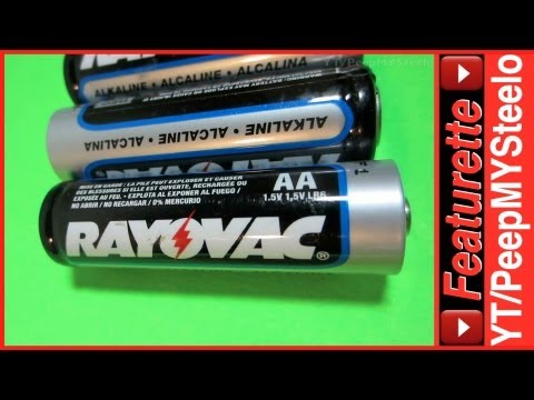 Rayovac Batteries in Bulk 1.5V Alkaline AA Battery Size For Flashlights to LED Lantern Lights & More