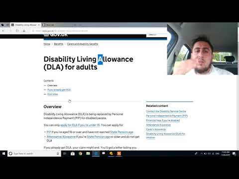 Disability Living Allowance (DLA) For Children