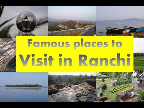 Famous places to Visit in Ranchi | Ranchi Tourism | SCK's Ph