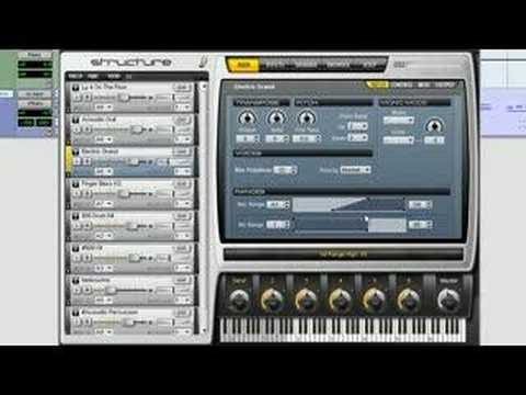 Structure: Introduction - Virtual Instrument for Pro Tools