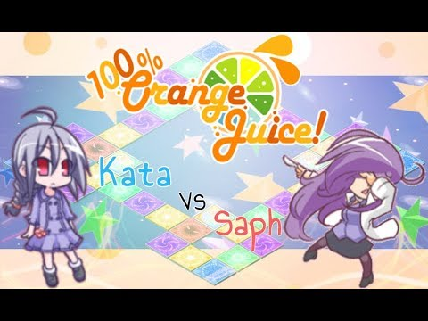 100% Orange Juice ¦ School Crashers! event ¦ Suguri vs Kiriko |