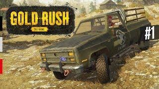 KÜREKLE ALTIN ARIYORUZ! - Gold Rush The Game İlk İzlenimler 1. Bölüm