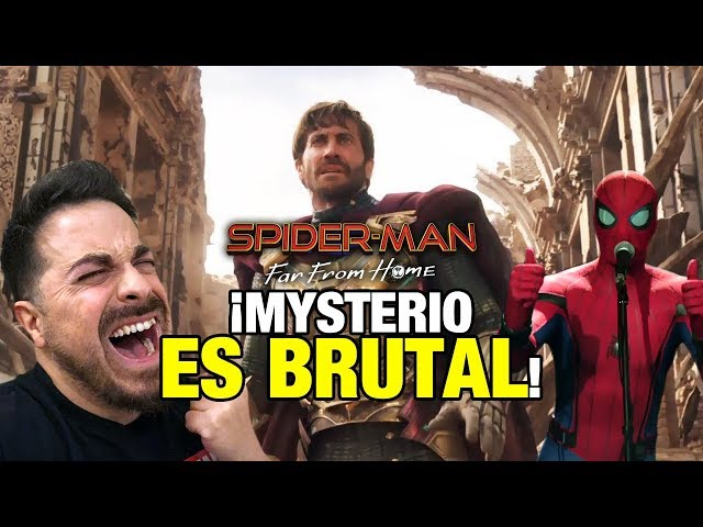 ¡MYSTERIO ES BRUTAL! Primer tráiler de Spider-Man: Far From Home
