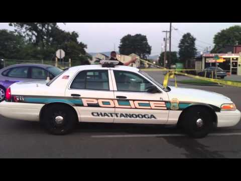 RAW: Woman shot to death on Market Street in Chattanooga