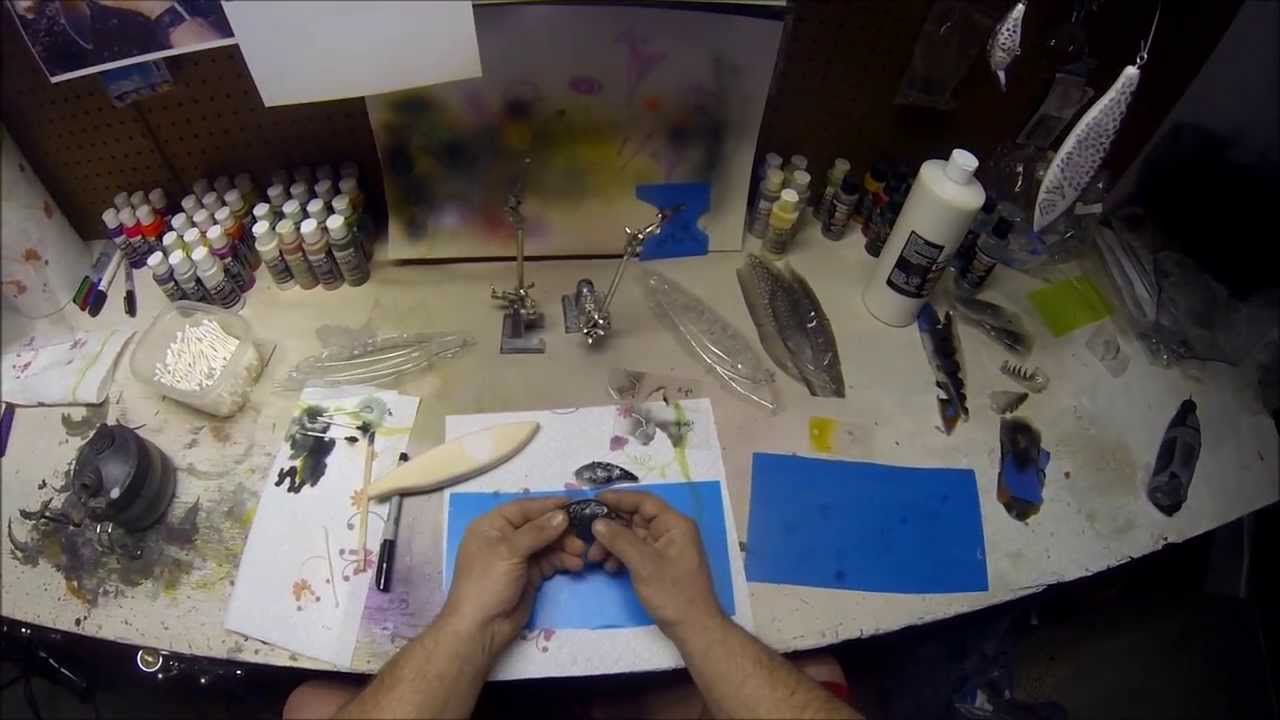 How to make a lure stencil