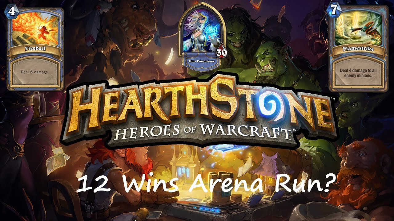 Hearthstone 12 Wins Arena Run Teil 3 Youtube