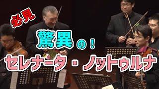 マロオケ3プレコンサートより、モーツァルト/セレナータ・ノットゥルナ3楽章