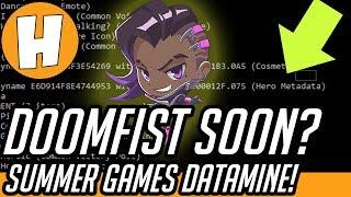 Overwatch - Doomfist Incoming Soon? Summer Games Datamine/Crash Logs Analysis! | Hammeh