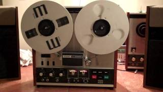 Heavy Metal Radar Rider-Riggs. Played on a TEAC A-3300S 2 Track Reel to Reel. ZCUCKOO