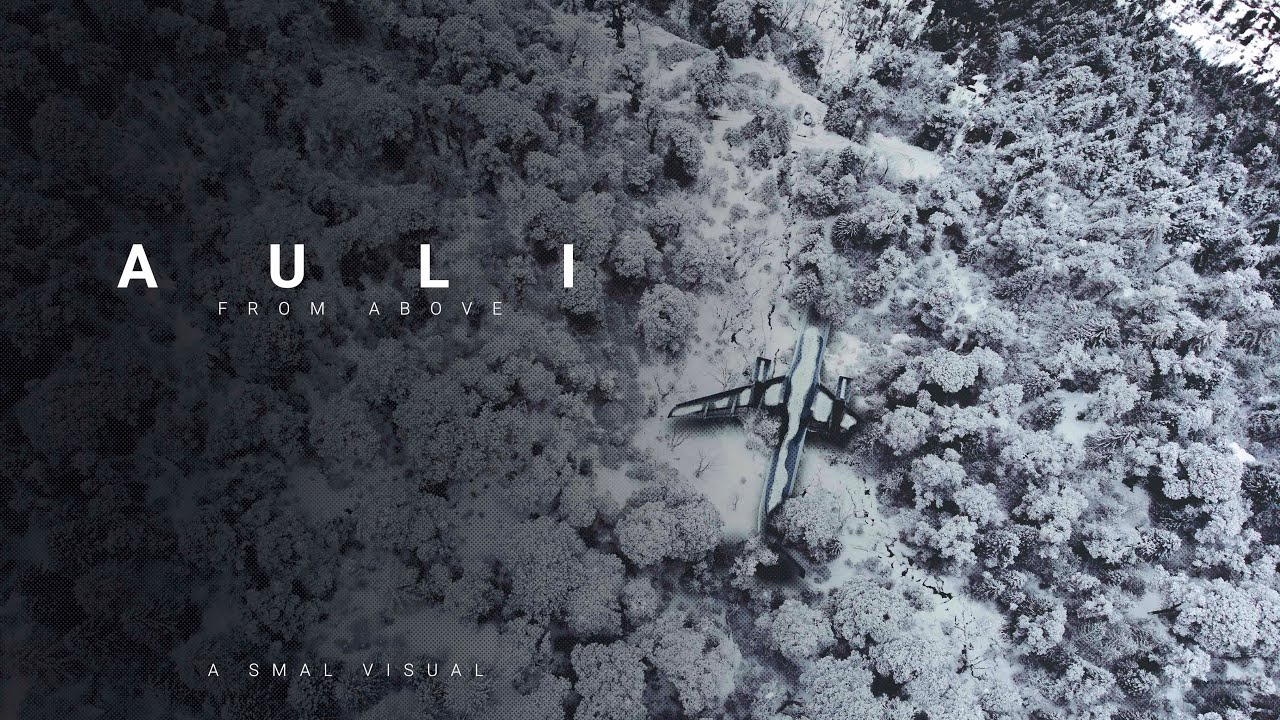 Download You've never seen Auli like this   Auli from Above (Mavic Air)