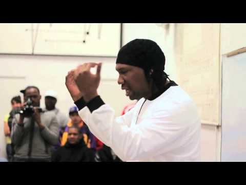 KRS-ONE: Part 1: 40 Years of Hip Hop Lecture at Fresno State:
