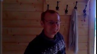 видео баня из бруса 6х4