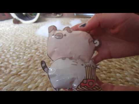 DIY paper squishy pugsheen and pusheen!!    how to make a squishy without foam  