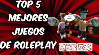 😎Top 5 best ROLEPLAY games on (roblox) that I recommend 🤔