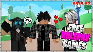 😎Top 5 mejores juegos de ROLEPLAY en (roblox) que te recomiendo 🤔