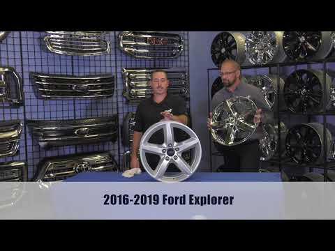 INSTALLATION: IMP419X Impostor Series Wheel Skins for the Ford Explorer