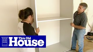 How To Install A Garage Storage System | This Old House
