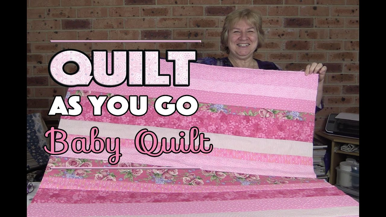 Quilt As You Go Baby Quilt: Quilting Tutorial - YouTube : youtube quilting for beginners - Adamdwight.com
