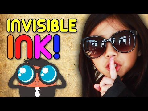 How to Make Invisible Ink | Full-Time Kid | PBS Parents