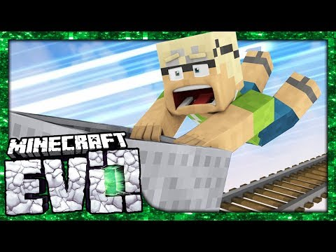 STOP THE TRAIN!! - Minecraft Evolution SMP #6