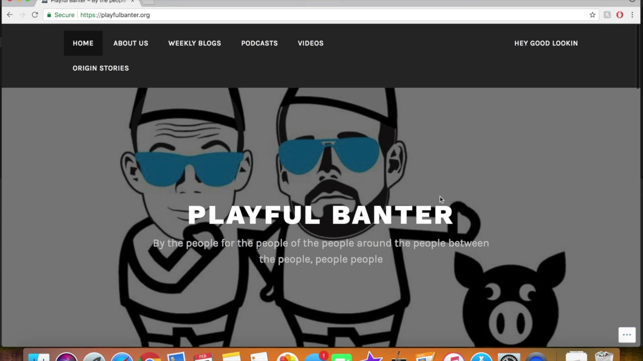 what is playful banter
